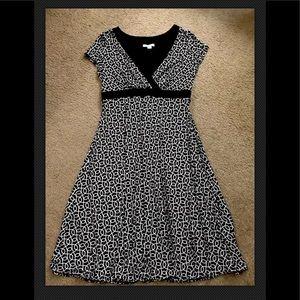 Dressbarn Black/White Dress 14